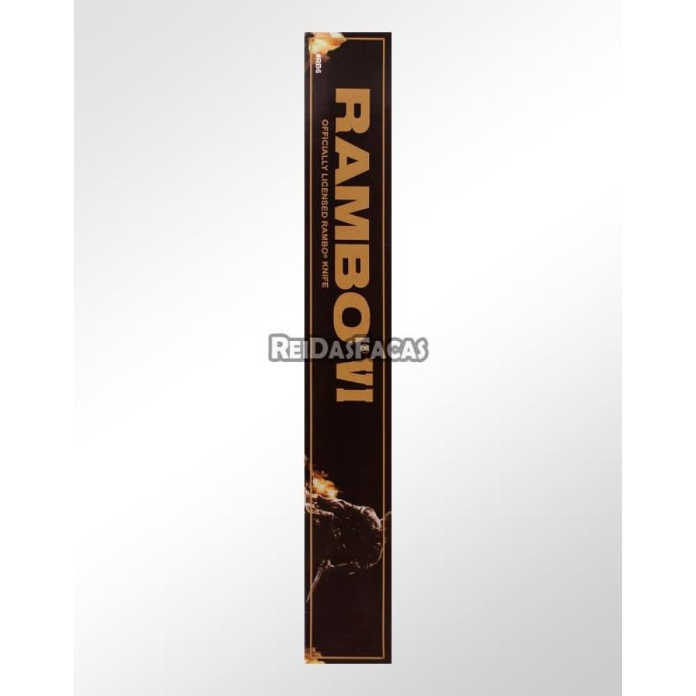 Faca Rambo 6 - Oficial Rambo First Blood Part VI LB-6   REI
