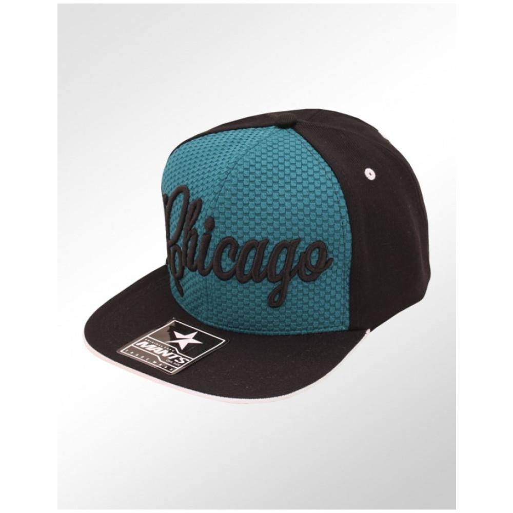 2b79e50341df8 Boné Snapback Aba Reta Mants Chicago 1