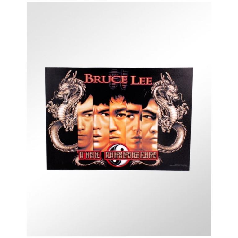 Quadro Decorativo Bruce Lee - The Dragon