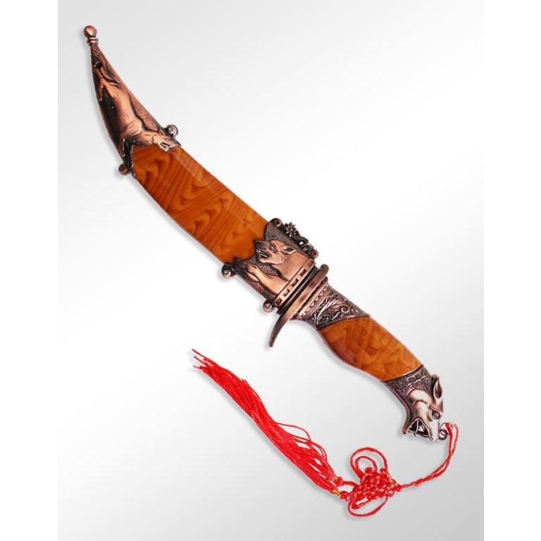 Adaga Decorativa Wild Dog KY-5193