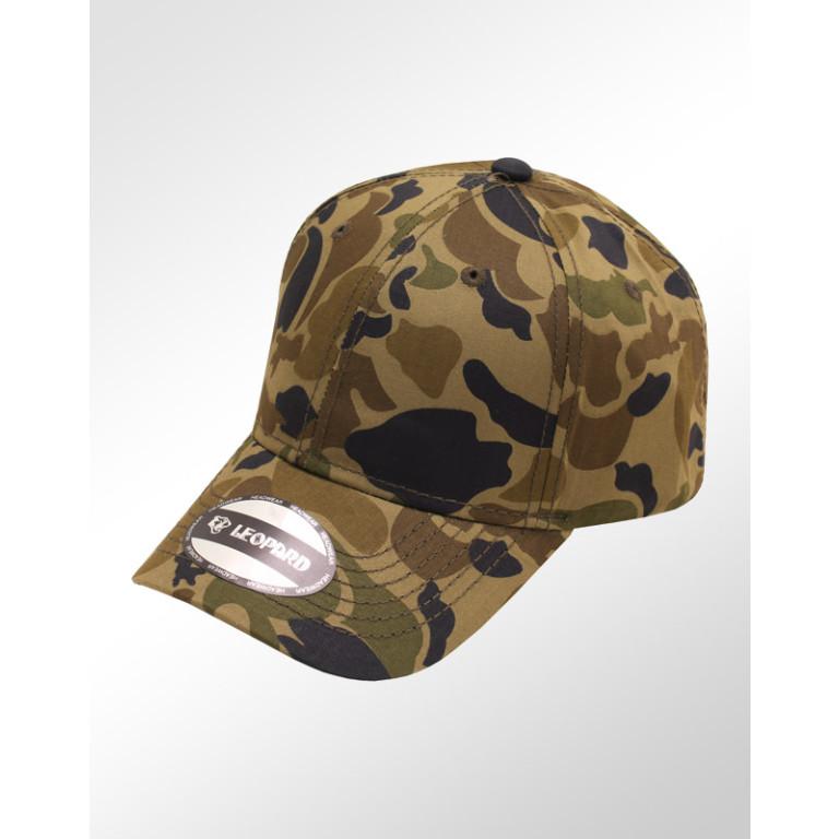 Boné Militar Leopard Aba Curva Strapback