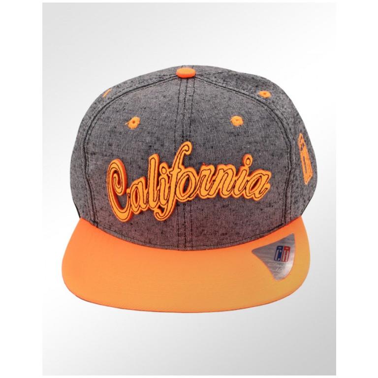Boné Snapback Aba Reta Classic Hats Califórnia