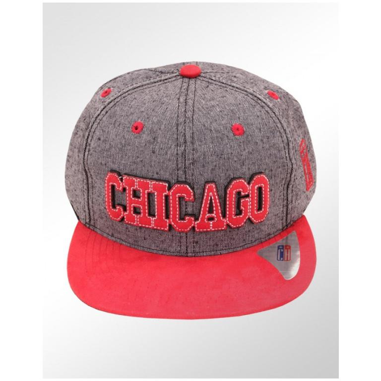 Boné Snapback Aba Reta Classic Hats Chicago