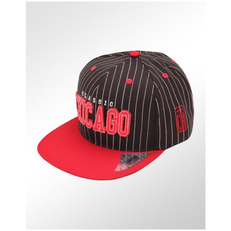 Boné Snapback Aba Reta Classic Hats Chicago Classic  1
