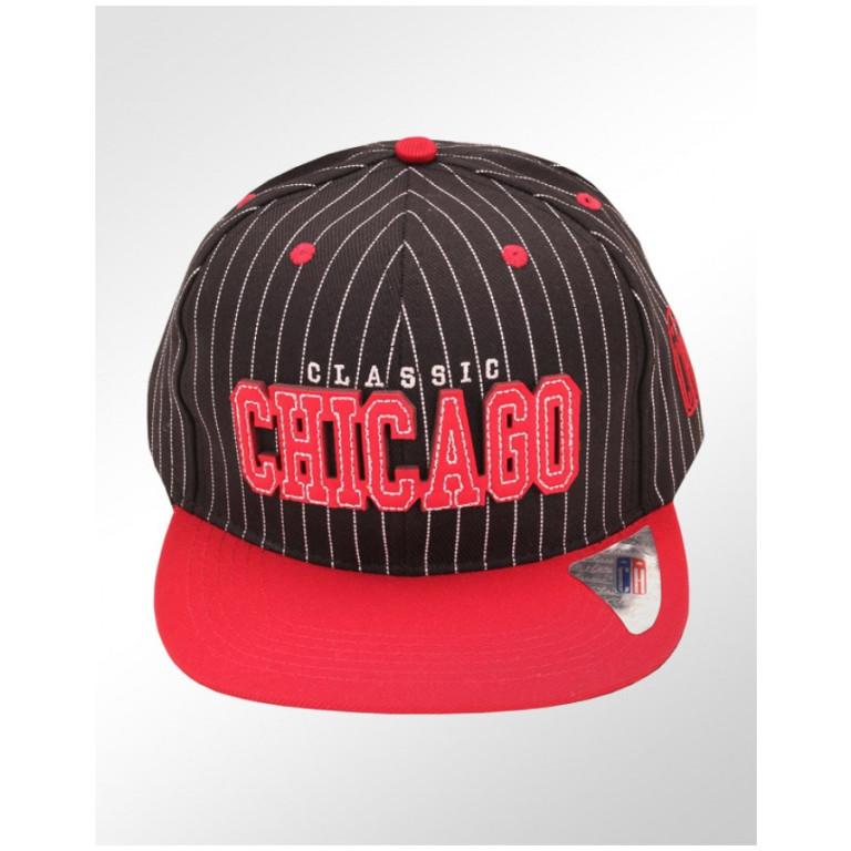 Boné Snapback Aba Reta Classic Hats Chicago Classic