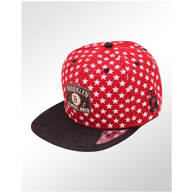 Boné Snapback Aba Reta Classic Hats Estrelas Brooklyn Classic Hats 1