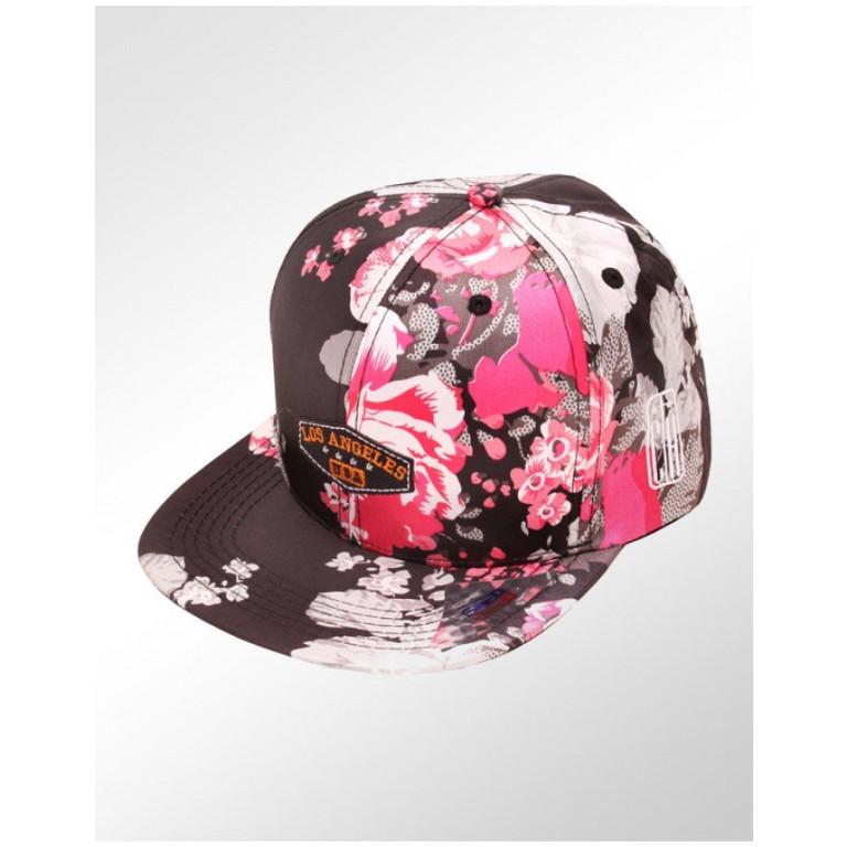 Boné Snapback Aba Reta Classic Hats Los Angeles Floral 1