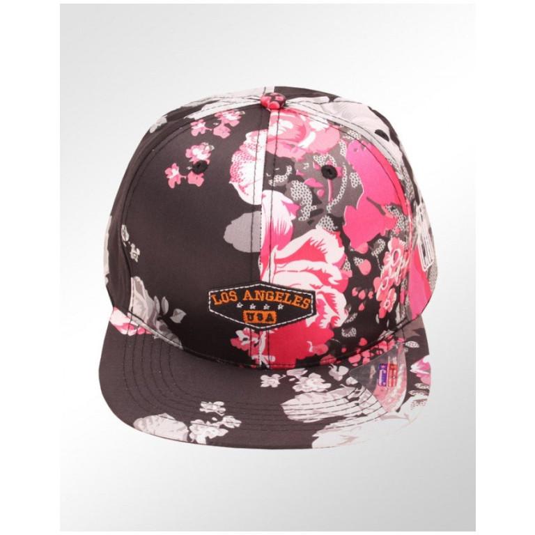 Boné Snapback Aba Reta Classic Hats Los Angeles Floral