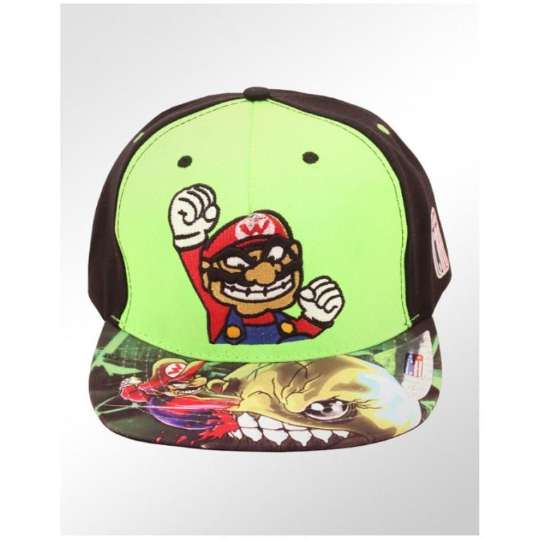 Boné Snapback Aba Reta Classic Hats Super Mario Bros