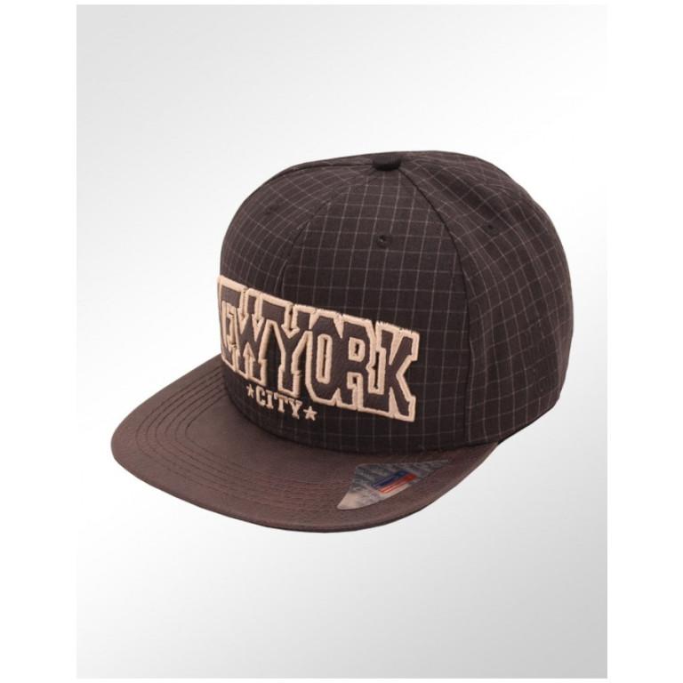 Boné Strapback Aba Reta Classic Hats New York City 1