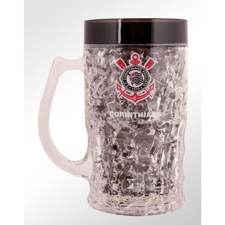 Caneca Congelante do Corinthians 370 ml
