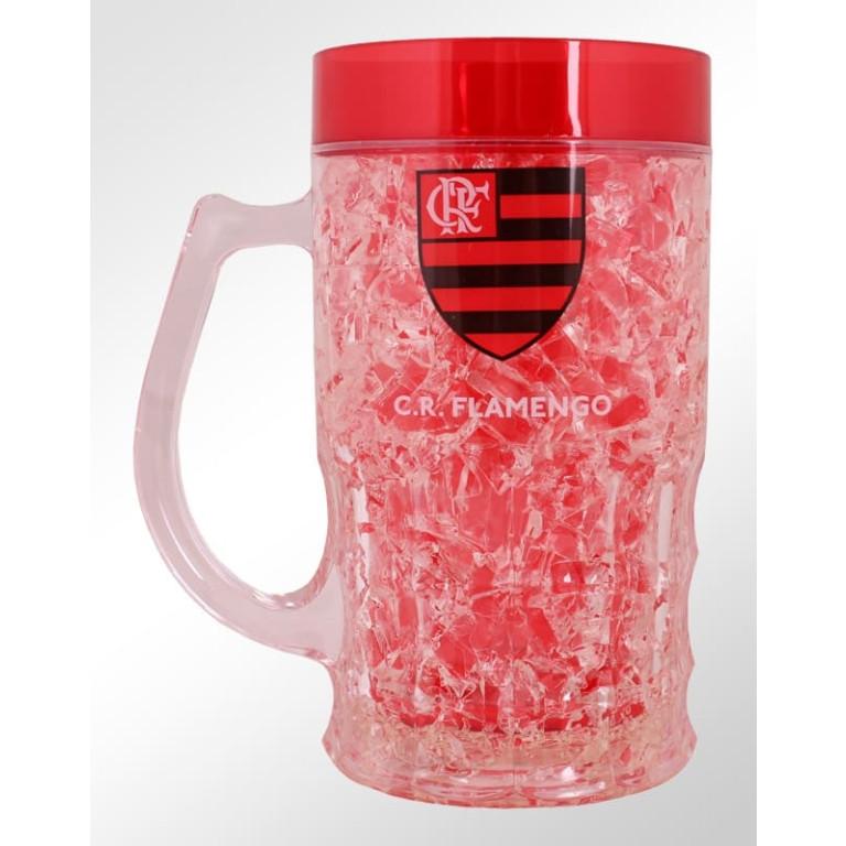Caneca Congelante do Flamengo 370 ml