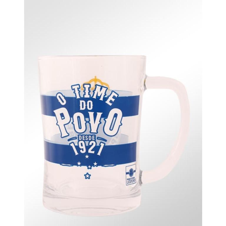 Caneca Do Cruzeiro de Vidro Grosso 650 ml