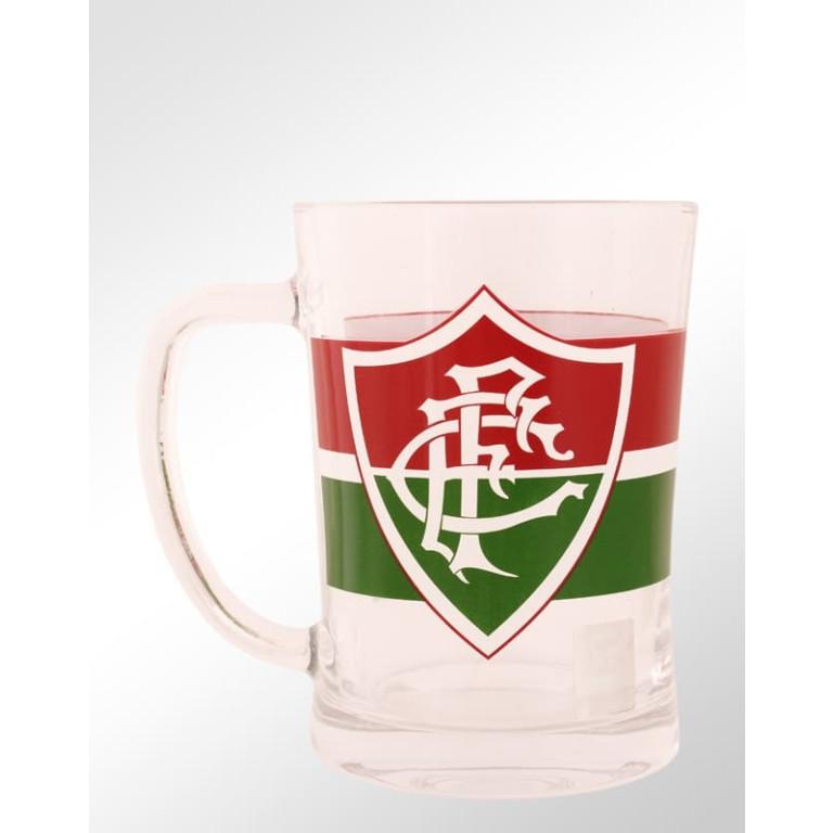 Caneca de Vidro do Fluminense 660 ml