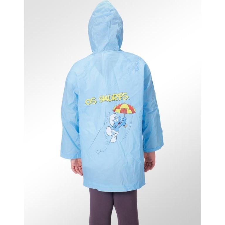 Capa de Chuva Infantil Disney Smurfs 2
