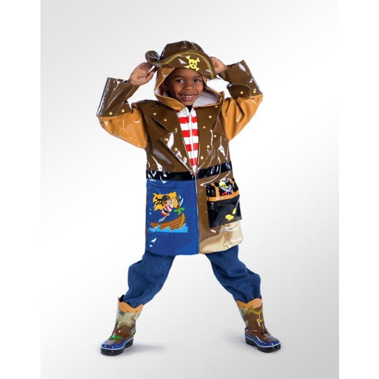 Capa de Chuva Infantil Kidorable Pirata 1