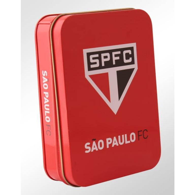 Conjunto Canivete + Chaveiro na Lata São Paulo