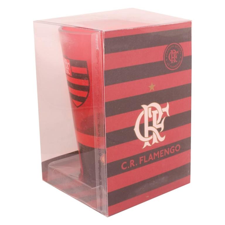 Copo do Flamengo de Vidro 475 ml