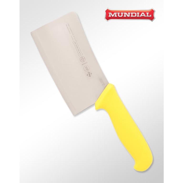 Cutelo Inox Alto Teor Carbono Linha Profissional Amarelo 6 Polegadas 5550-6AM