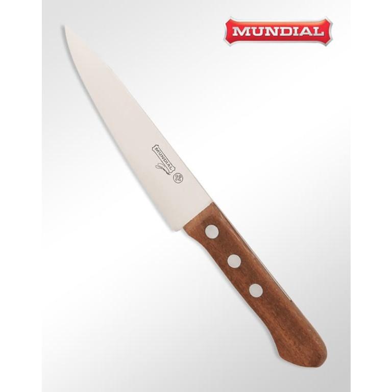 Faca Carnes 6 Polegadas Premium Wood Mundial 1110-6M