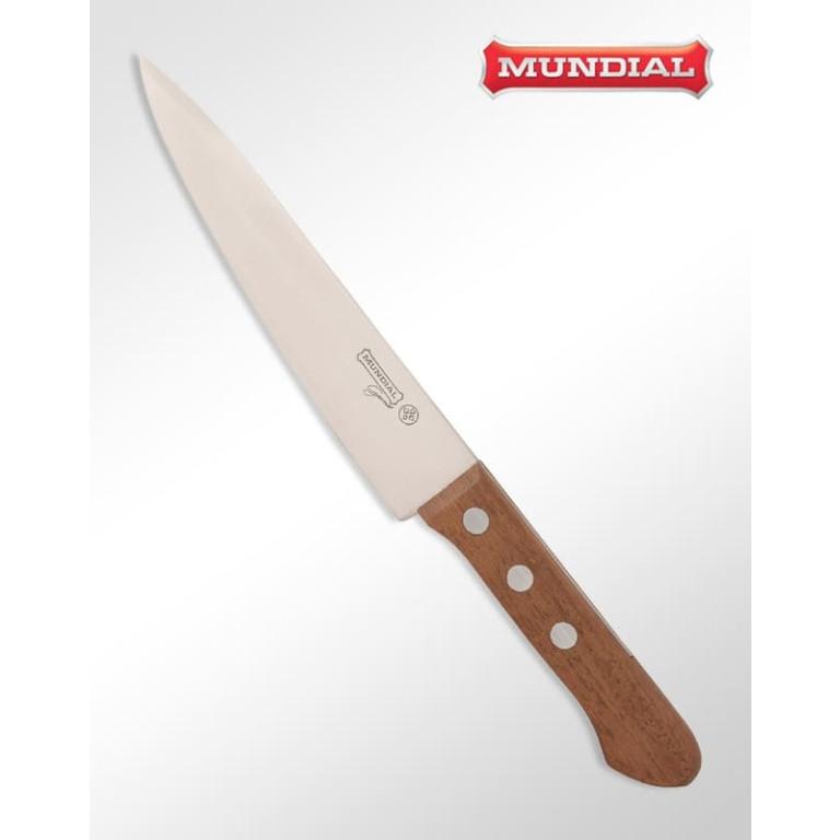 Faca Carnes 7 Polegadas Premium Wood Mundial 1110-7M