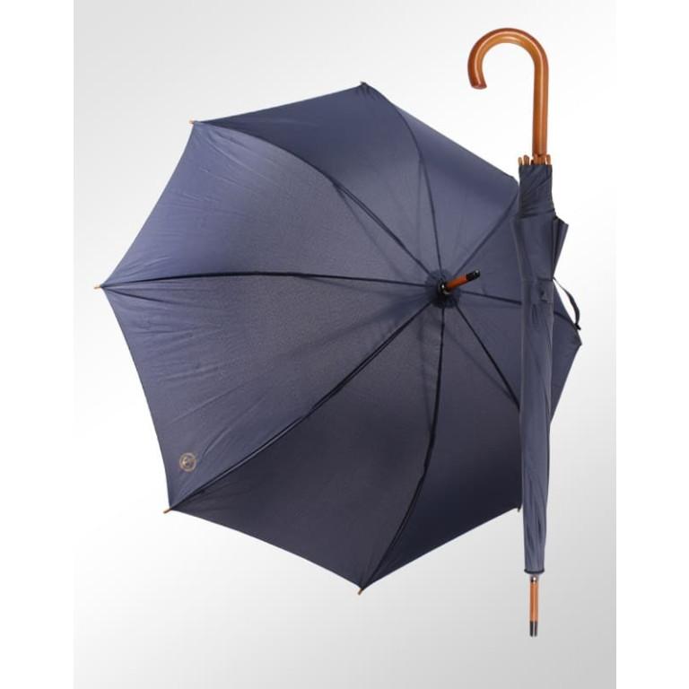 Guarda Chuva Náutico Contornos Fiberglass e Madeira Azul