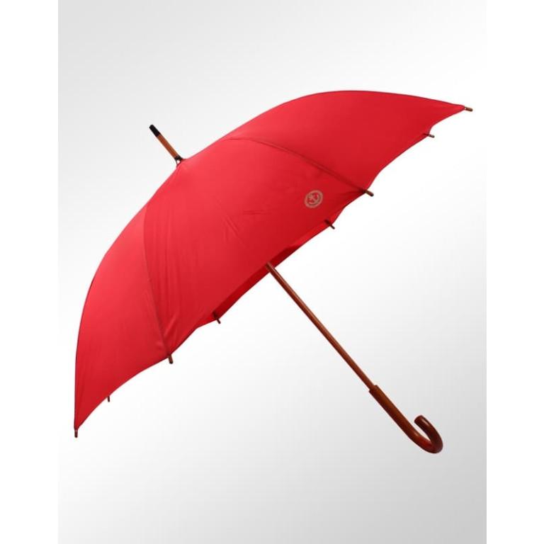 Guarda Chuva Contornos Retrô Náutico Fiberglass em Madeira Vermelho
