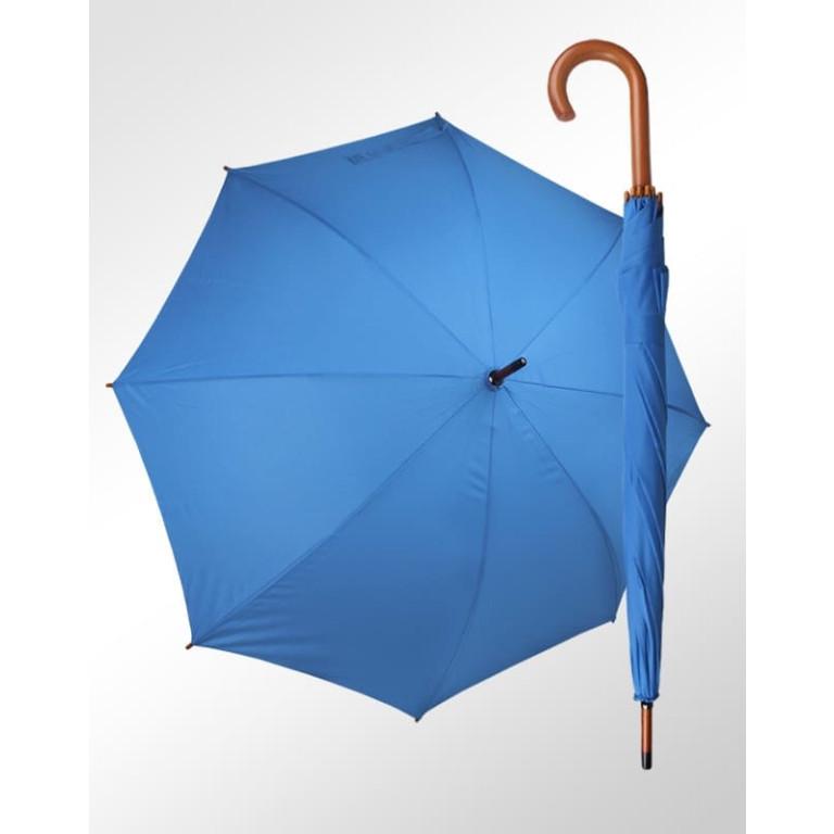 Guarda Chuva Pavarotti Madeira e Fibra de Vidro Azul