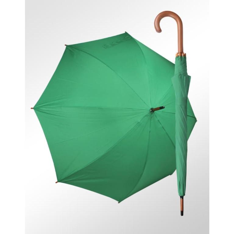Guarda Chuva Pavarotti Madeira e Fibra de Vidro Verde