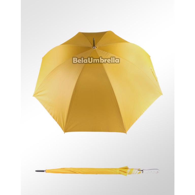 Guarda Chuva Sombrinha Amarelo Portaria Grande