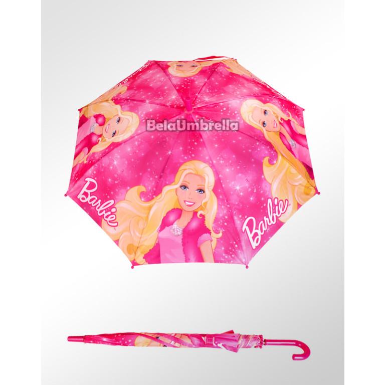 Guarda Chuva Sombrinha Infantil Disney Barbie