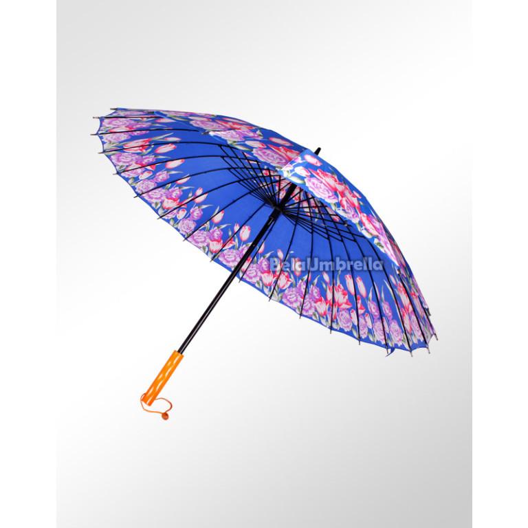 Guarda Chuva Sombrinha Reforçada 24 Varetas Boa Qualidade Tulipas 3