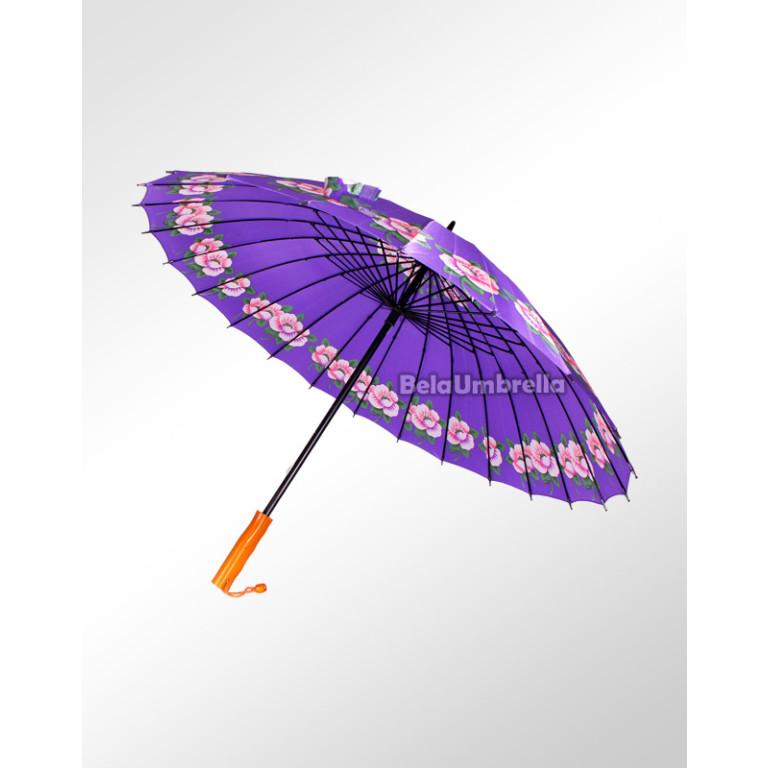 Guarda Chuva Sombrinha Reforçada 24 Varetas Boa Qualidade Violetas 3