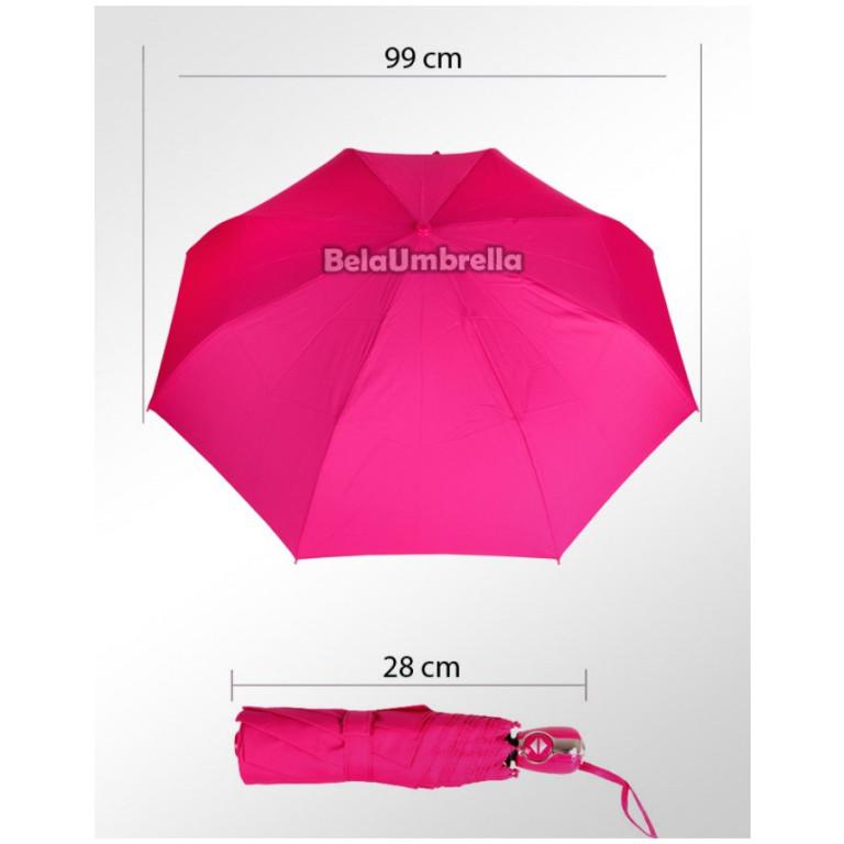 Guarda Chuva Sombrinha Automática Fazzoletti Pink