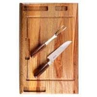 Conjuntos de facas com tábua