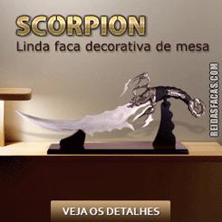 Faca Escorpião